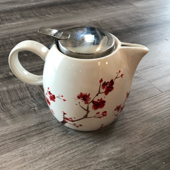 tea forte Other - Tea Forte Cherry Blossom Teapot Ceramic